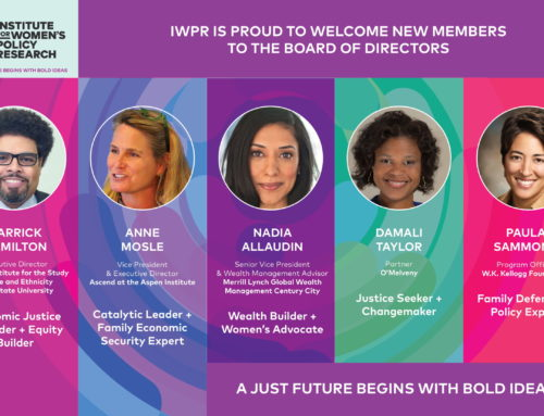 IWPR Expands Board of Directors to Include Influential Leaders, Creates Advisory Council to Meet the Moment