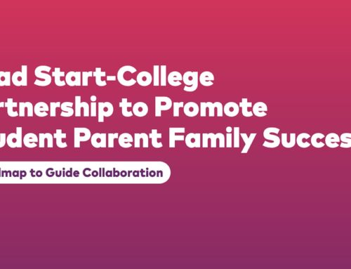 Head Start College Partnership to Promote Student Parent Family Success: A Roadmap for Collaboration