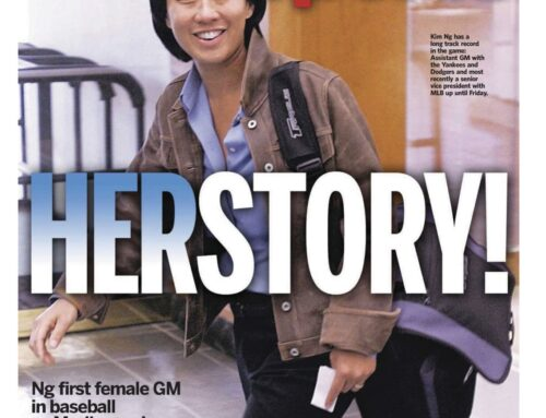 Kim Ng Breaks Another Glass Ceiling