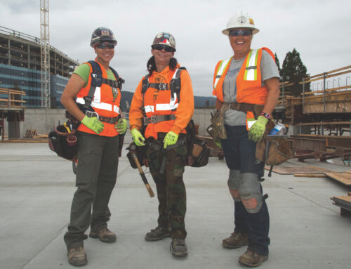 Construction and Utilities Are the Only Industries Where Women Have Added Jobs Since COVID. Now the Task Is to Make Them Want to Stay.
