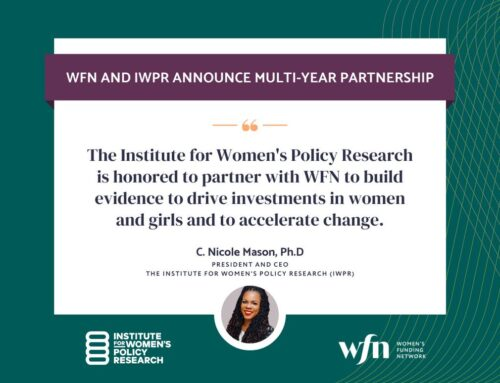 WFN Announces Partnership to Name IWPR Exclusive Research Partner for Global Network